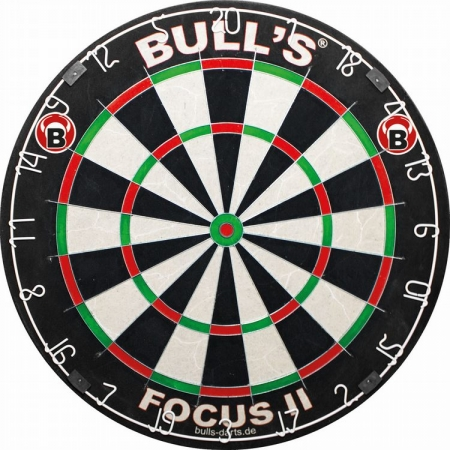 BULL'S Focus II Steel-Dartboard