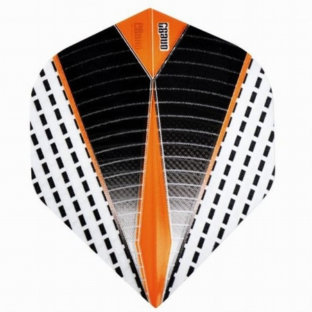 one80 DAZE Standard Dartflight orange/grau