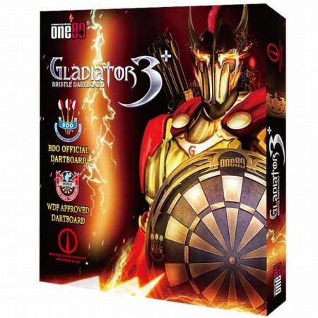 ONE80 Gladiator III Plus BDO Steel-Dartboard