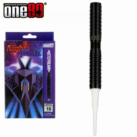 one80 NIGHTHAWK Jetstream Softdart-Set 16 u. 18 Gr.