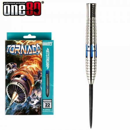 one80 TORNADO Jetstream Steeldart-Set 20 u. 22 Gr.