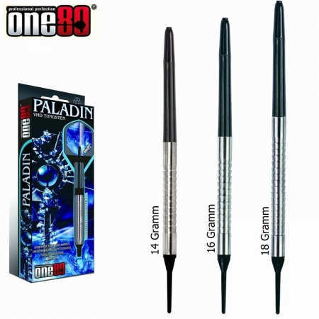 one80 PALADIN Softdart-Set 14, 16 u. 18 Gr.