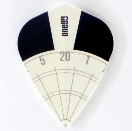 one80 SPECTRA Kite Dartflight weiss