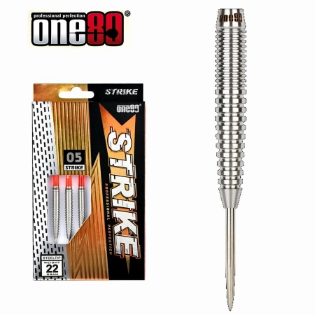 one80 STRIKE 05 Steeldart-Set 22 u. 24 Gr.