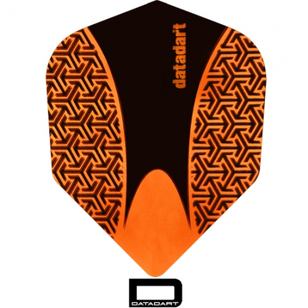 DATADART 15ZRO Dartflight Shape orange