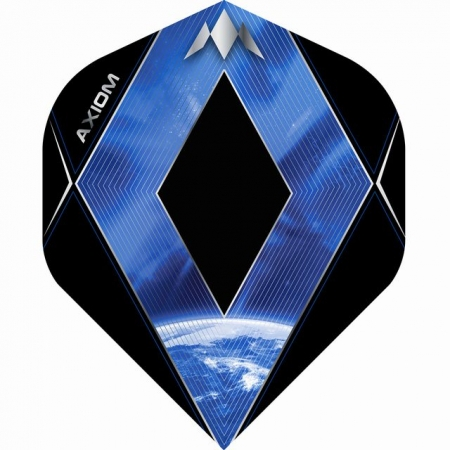 Mission Axiom Dartflight Standard /Schwarz/Blau