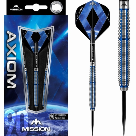 Mission Axiom M1 Steeldart-Set 21 + 23 + 25 Gramm