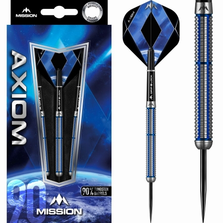 Mission Axiom M2 Steeldart-Set 22 + 24 Gramm