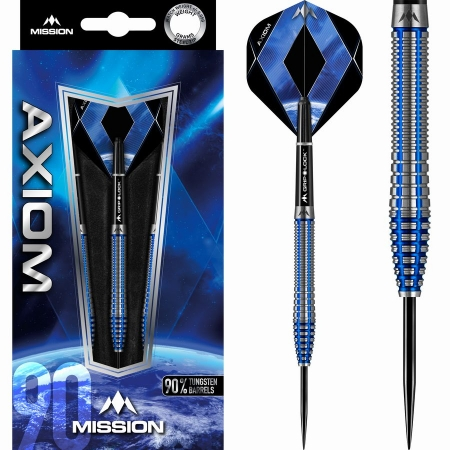Mission Axiom M3 Steeldart-Set 21 + 23 + 25 Gramm