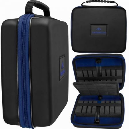 Mission Freedom Luxor Extra Large Darts Case blau