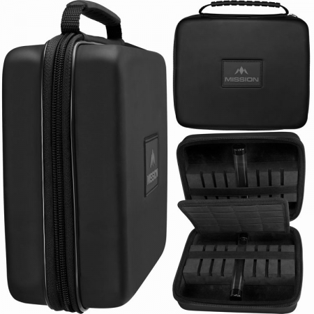 Mission Freedom Luxor Extra Large Darts Case schwarz