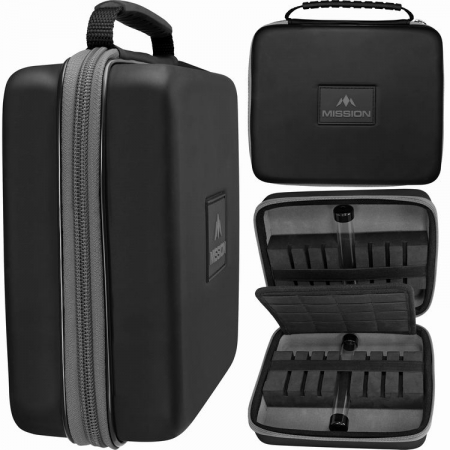 Mission Freedom Luxor Extra Large Darts Case grau