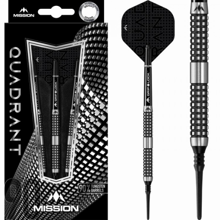 Mission Quadrant M4 Softdart-Set 18 + 20 Gramm