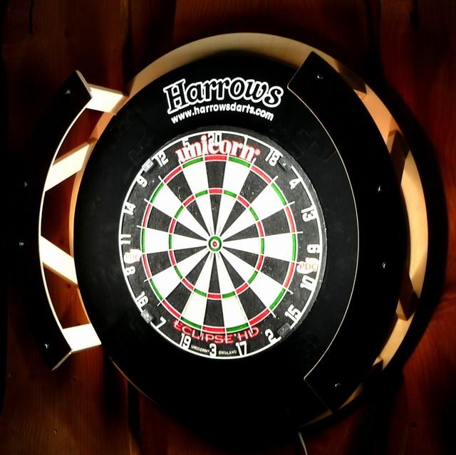 Steeldartboard Beleuchtung | Target Corona Vision 360 Dartboard Lighting System Smash G8 De