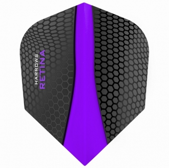 Harrows Retina 100 Purple Shape/Standard Flight