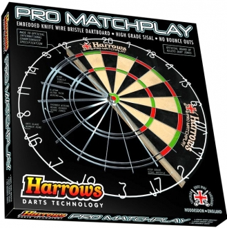Harrows Pro Matchplay Steel-Dartboard